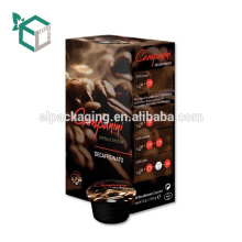 Uv Hot Stamping coffeeCardboard Packaging coffee Box With Sleeve Varnishing